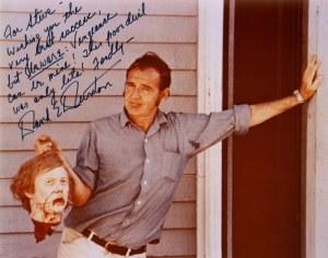 Durston on the set of IDYB, c. 1969-70.