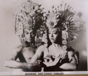 Baskhar and Candace in a 1976 publicity shot
