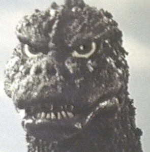 Godzilla gettin' his warface on