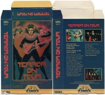 Terror on Tour VHS box