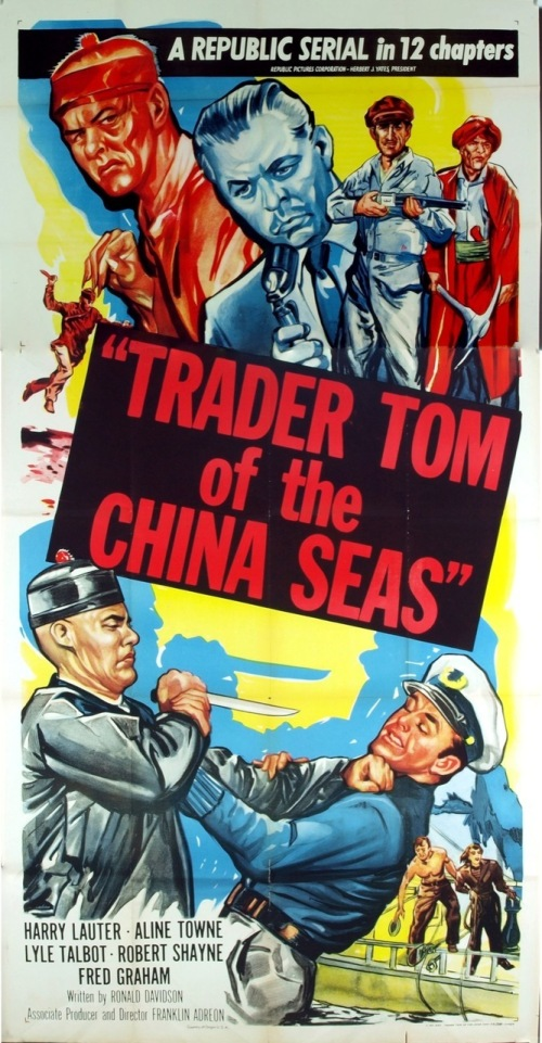 "1954. Serial, later aired as a TV movie in 1966 under title ""Target: Sea of China"""