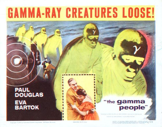1956. Commies using gamma rays to turn children into mutants!