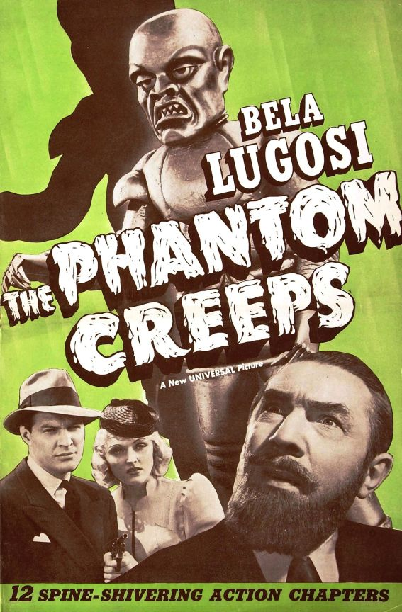 """1939. The """"opening crawl"""" text from Star Wars was based on this serial, and Rob Zombie's robot in The Haunted World of El Superbeasto is based on the robot in this."""
