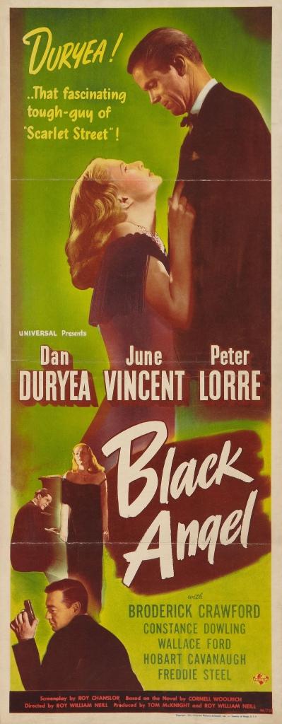 1946. Important, B-film noir. Based on book by Cornel Woolrich.