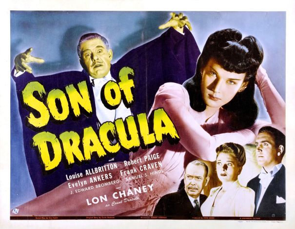 1943. Features first on-screen man-to-bat transformation.