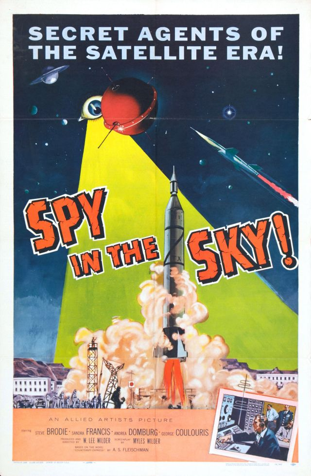 1958. Low budget spy thriller against the backdrop of Sputnik.